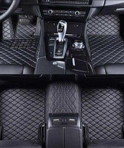 Custom Fit Luxury Car Mats All Black
