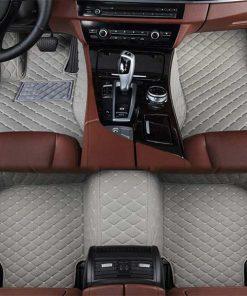 Custom Fit Luxury Car Mats Grey
