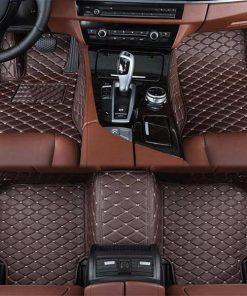 Custom Fit Luxury Car Mats Coffee
