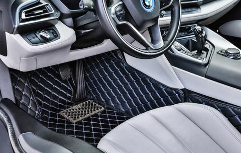 car interior luxury mat after