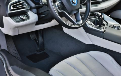 car interior luxury mat before